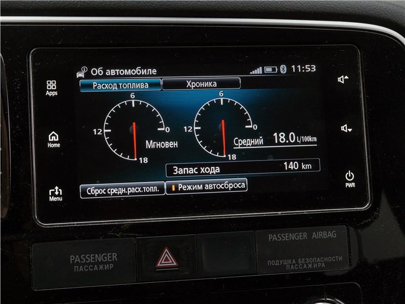 Mitsubishi Outlander 2016 монитор