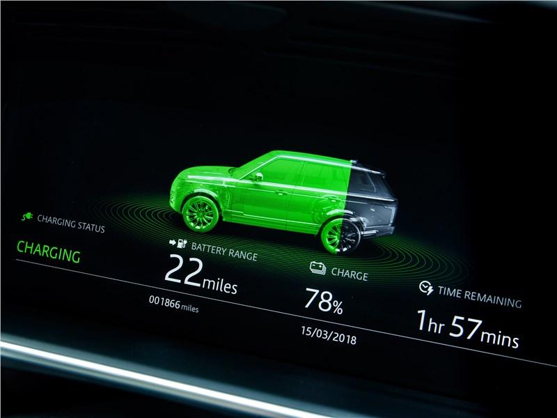 Land Rover Range Rover PHEV 2018 приборная панель