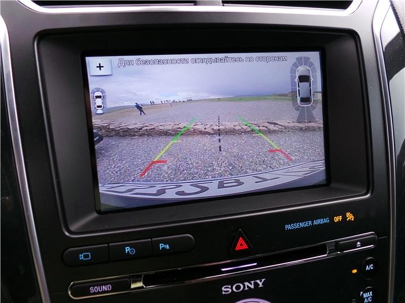 Ford Explorer 2018 монитор