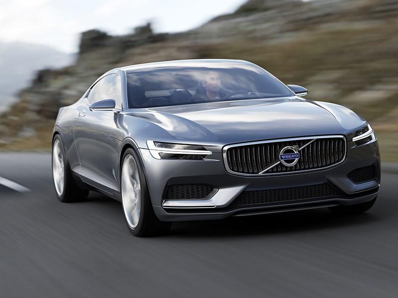 Volvo Coupe концепт 2013 вид спереди фото 6