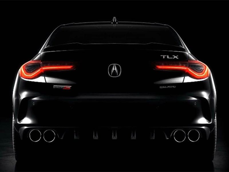 Acura анонсировала спортивный седан с новым турбомотором V6 Фото Авто Коломна