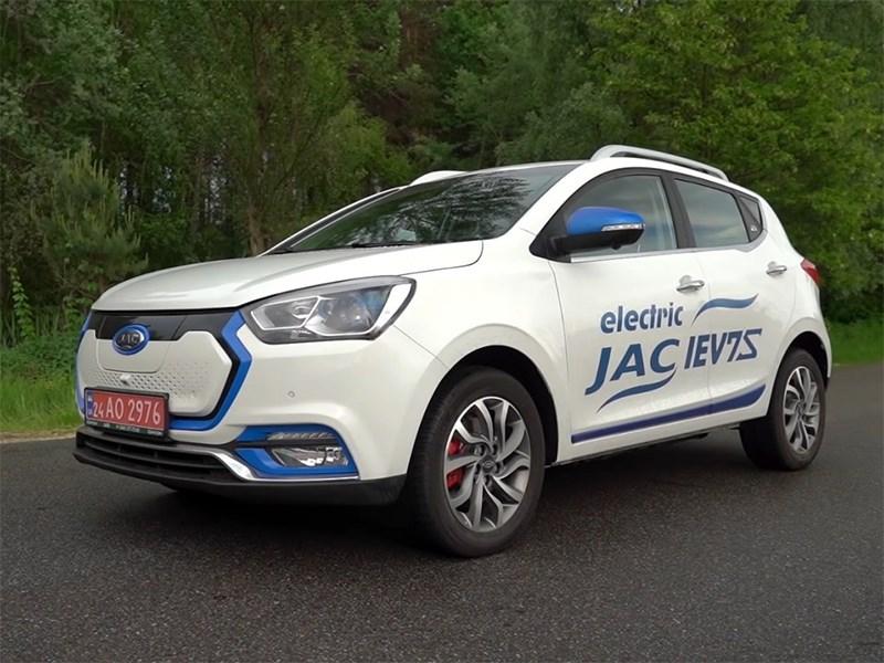 В JAC раскрыли подробности о новом электромобиле iEV7S