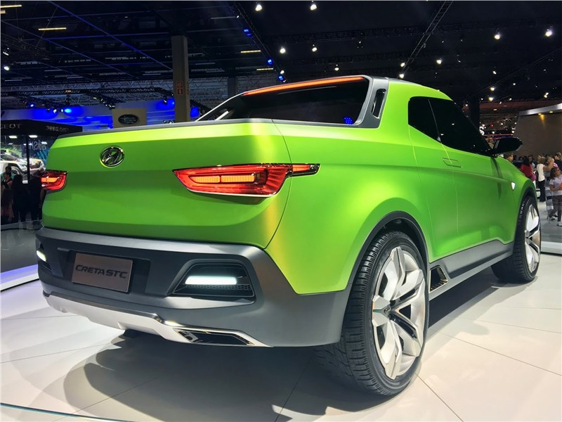 Hyundai Creta STC Concept 2016 вид сзади