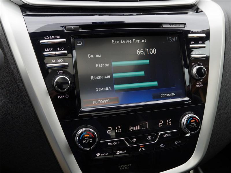 Nissan Murano 2016 центральная консоль