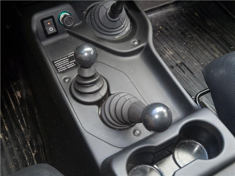 Lada 4x4 2017 управление трансмиссией