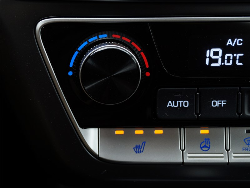 Hyundai Sonata 2018 центральная консоль