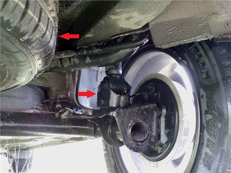 Datsun mi-Do 2018 запасное колесо