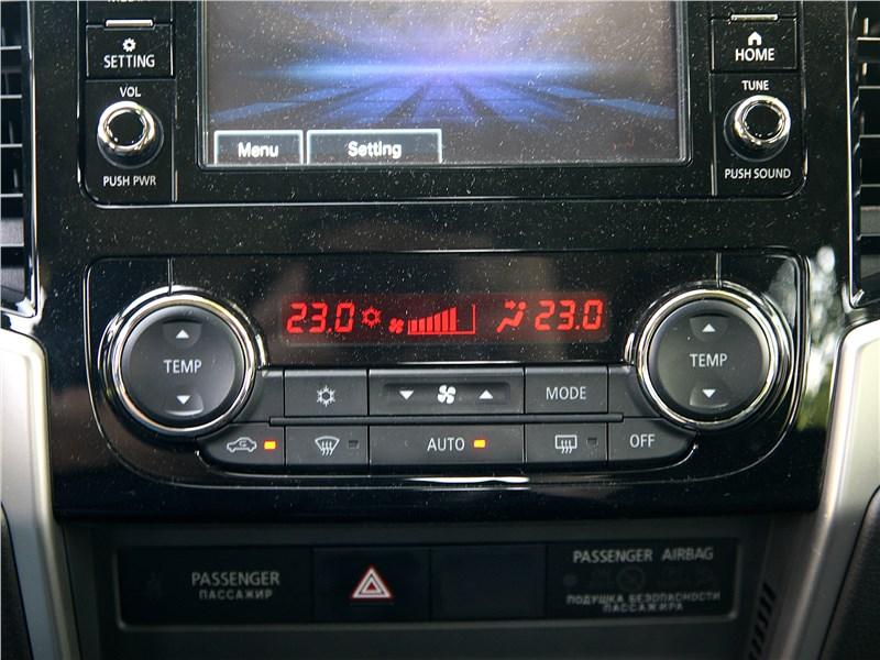 Mitsubishi L200 2020 управление климатом