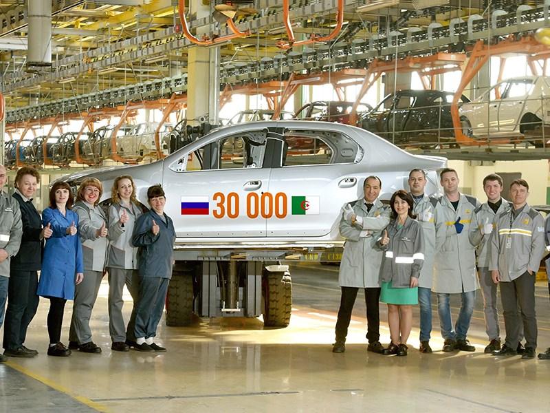 Из России в Алжир поставили 30 тысяч кузовов