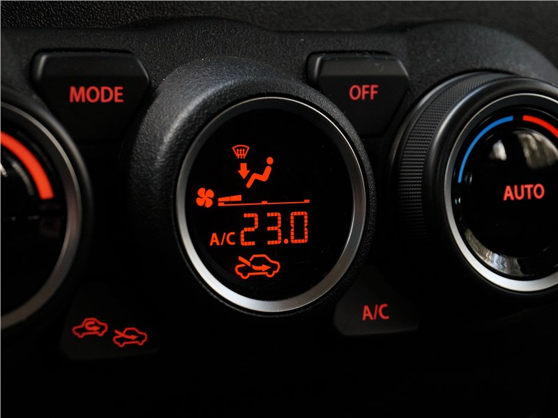 Suzuki Jimny 2019 управление климатом