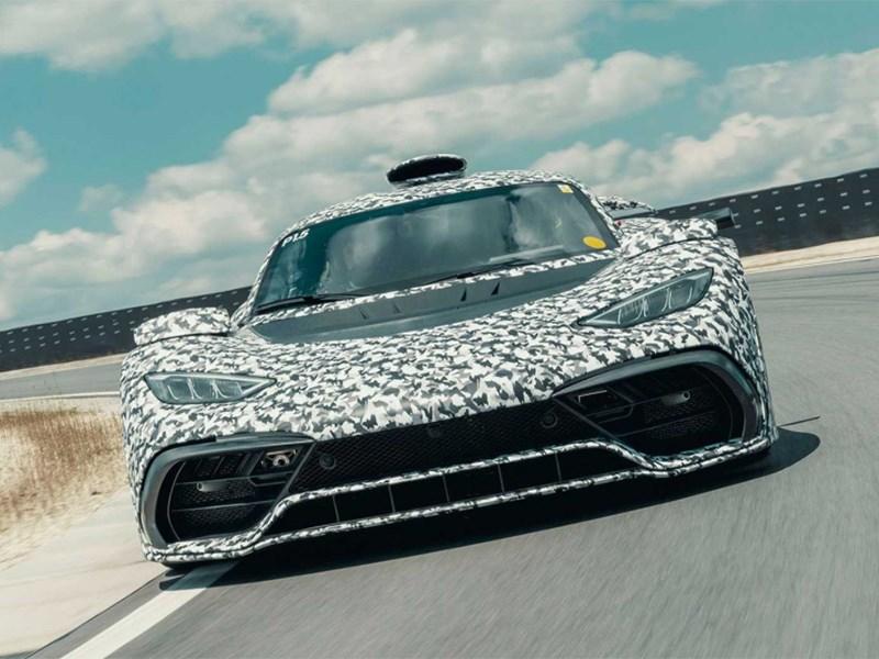 Mercedes-AMG One оказался мощнее, чем ожидалось