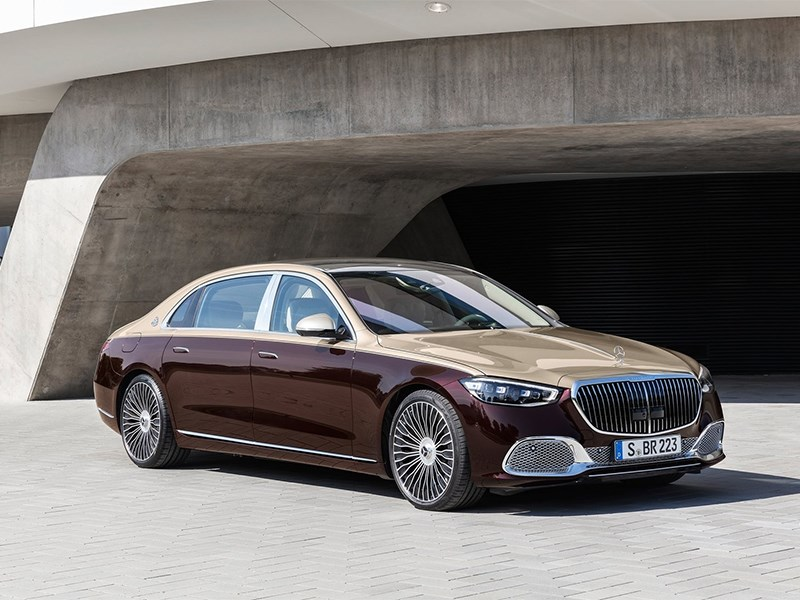 Представлен Mercedes-Maybach