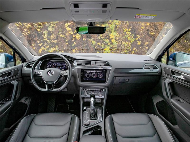 Volkswagen Tiguan (2018) салон