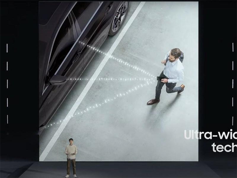Samsung представил технологию цифрового автомобильного ключа