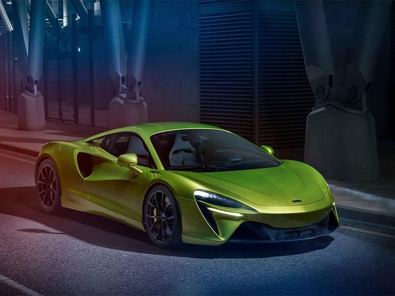 Рассекречен новый McLaren
