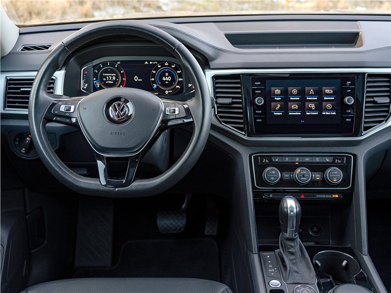 Volkswagen Teramont (2018) салон