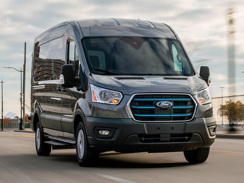 В Россию приедет электрический Ford Transit