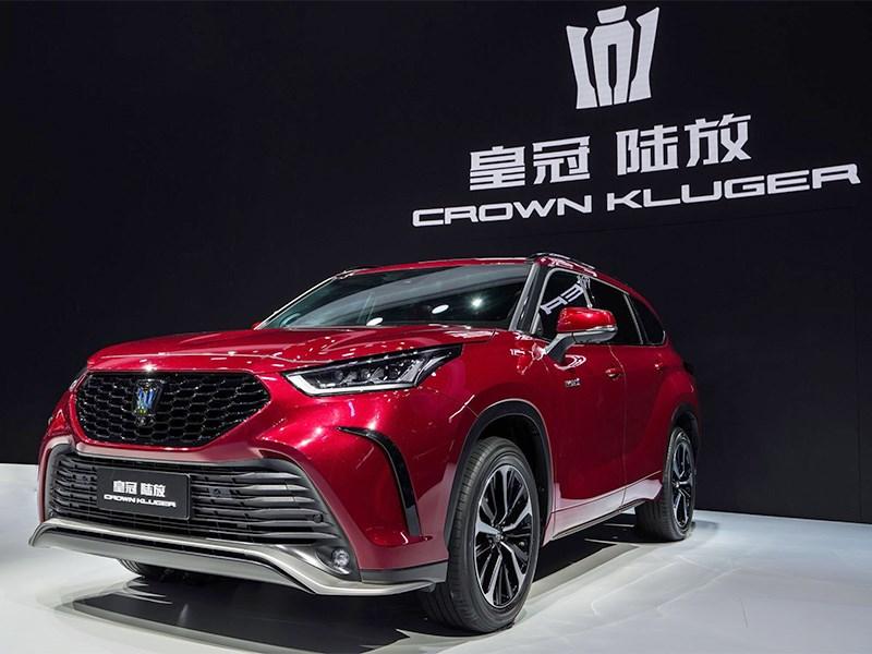 Toyota представила новый Crown