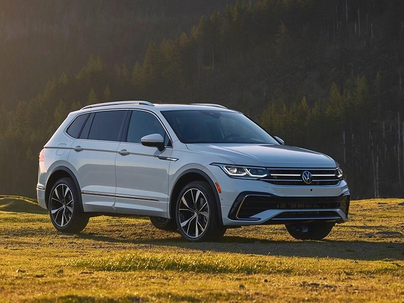 Volkswagen представил семиместный Tiguan