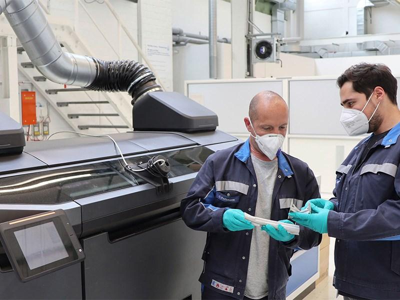 Volkswagen будет активно использовать 3d печать.