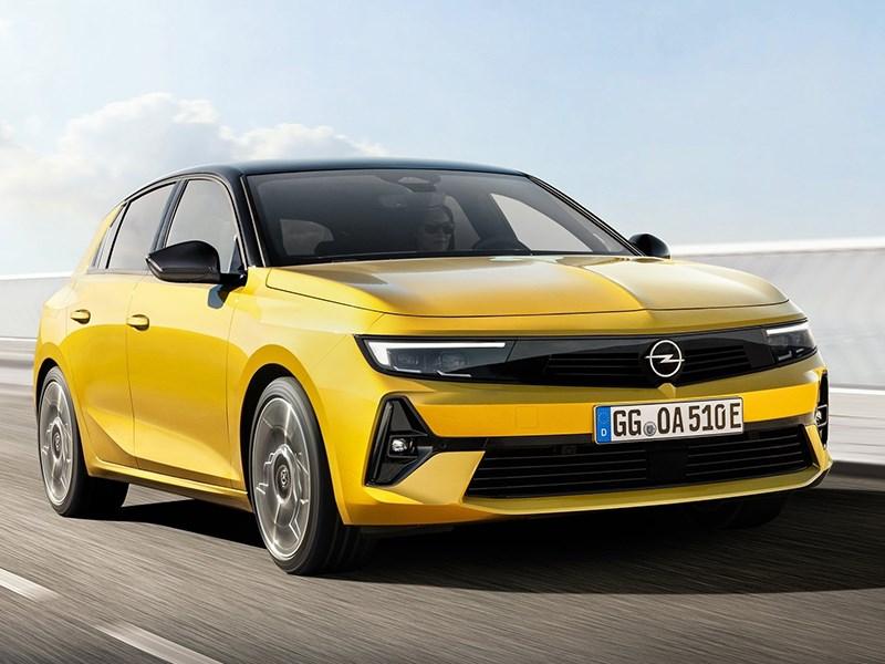 Представлен новый Opel Astra