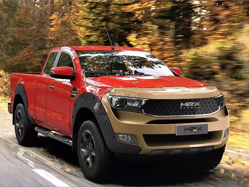 Ford Ranger перевели на водород