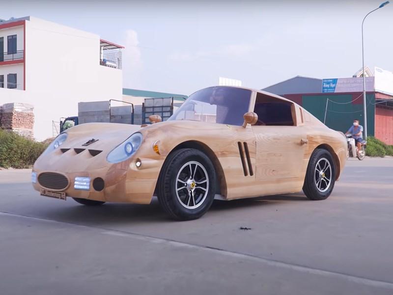 Во Вьетнаме построили Ferrari из дерева
