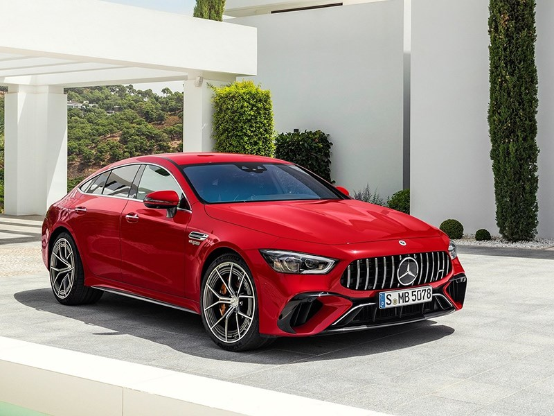 Представлен самый мощный Mercedes AMG GT