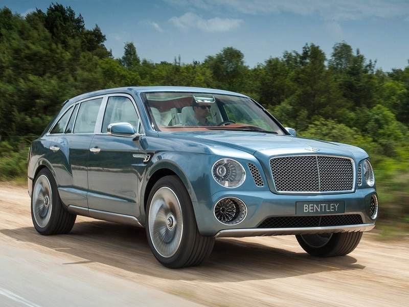 Самый дорогой внедорожник в мире будет выпущен под маркой Bentley