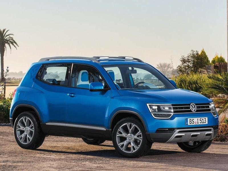 Volkswagen планирует начать серийный выпуск кроссовера Taigun