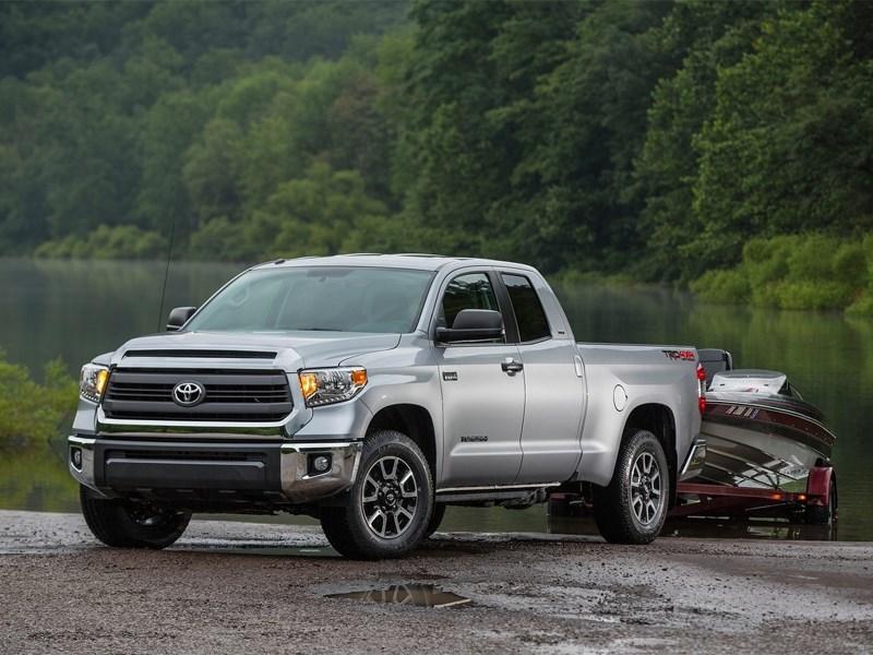 Toyota описала комплектации пикапа Tundra нового поколения