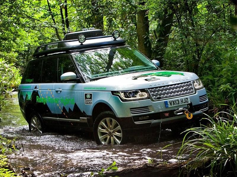 Range Rover и Range Rover Sport получили гибридные агрегаты