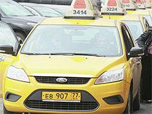 Такси с желтыми номерами получат право выезда на выделенные полосы