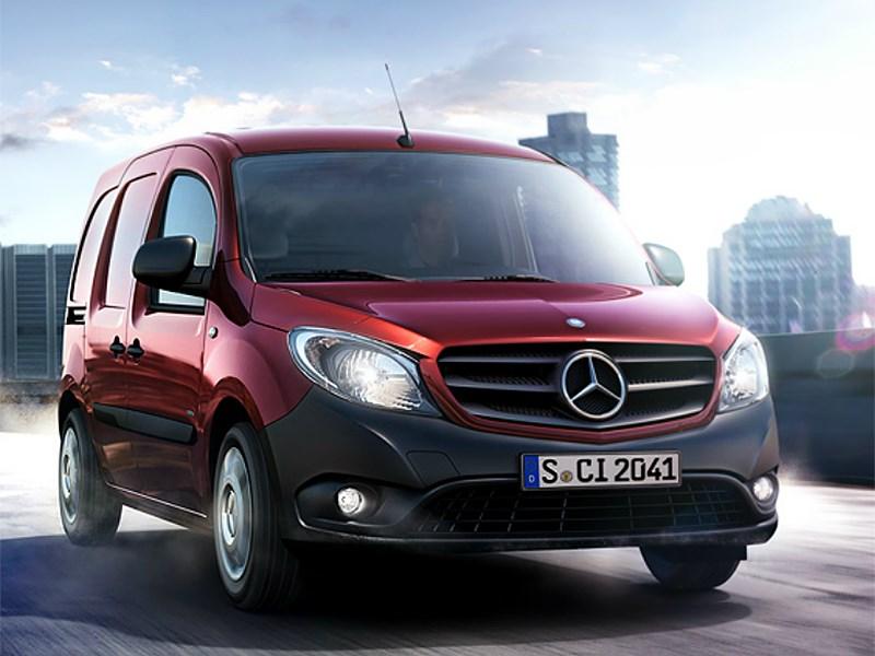 Начался прием заказов на Mercedes-Benz Citan