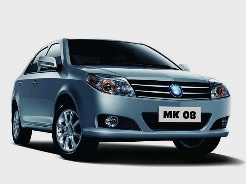 В России появится обновленная версия китайского седана Geely МК 08
