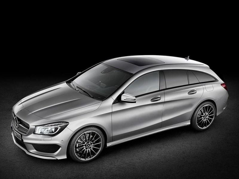 Mercedes-Benz CLA с кузовом «Shooting Brake» появится в 2015 году