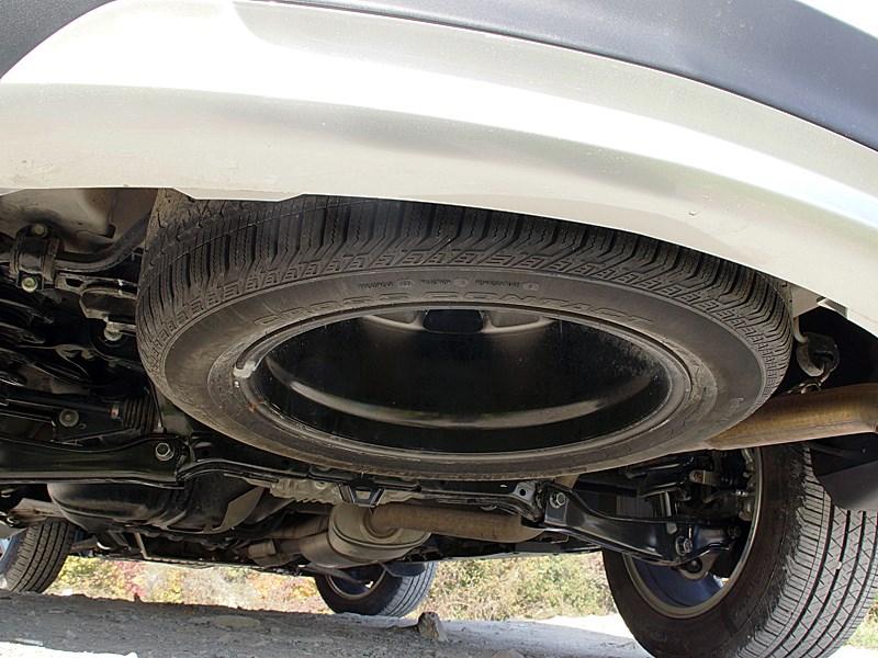 Acura MDX 2014 запасное колесо
