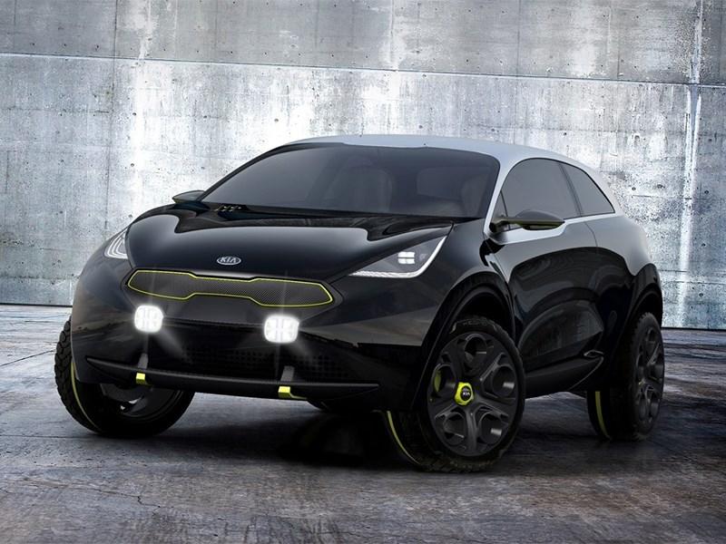 Kia Niro концепт 2013 вид спереди