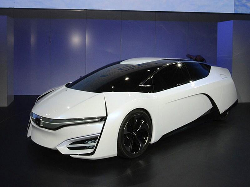 Водородный концепт-кар Honda FCEV представлен на автосалоне в Лос-Анджелесе