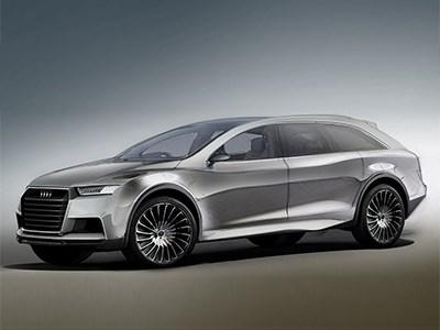 Audi готовится выпустить конкурента электрокроссоверу Tesla Model X