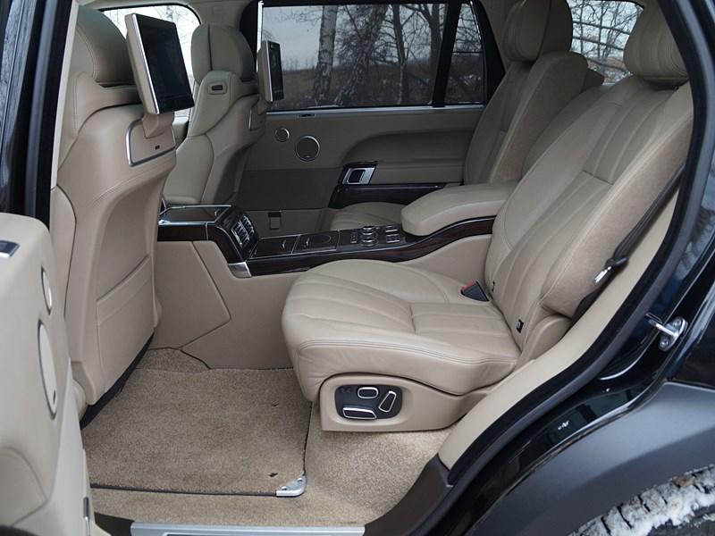 Range Rover LWB 2014 задние кресла