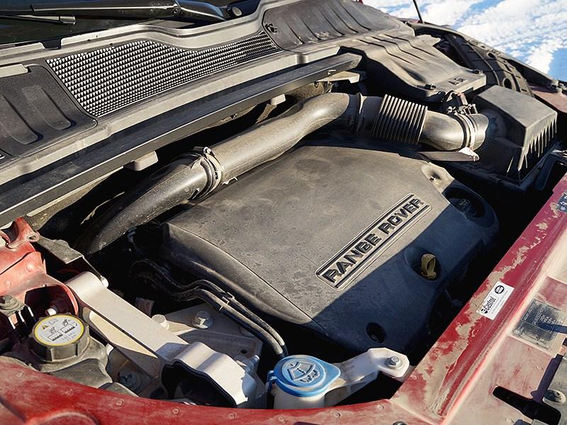 Range Rover Evoque 2012 двигатель