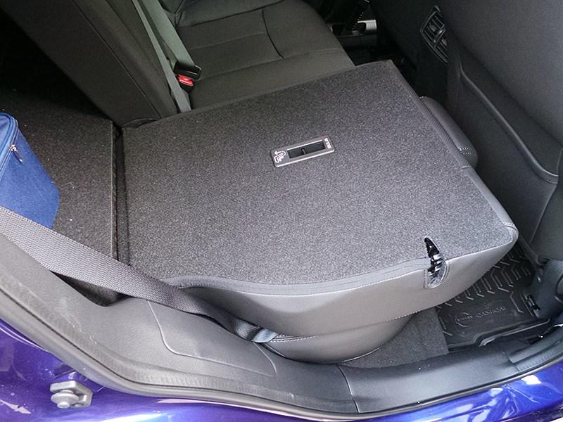 Nissan Qashqai 2014 спинка заднего дивана