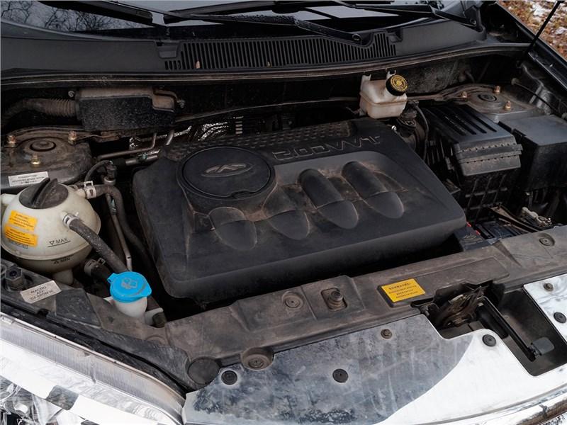Tiggo 5 2014 двигатель