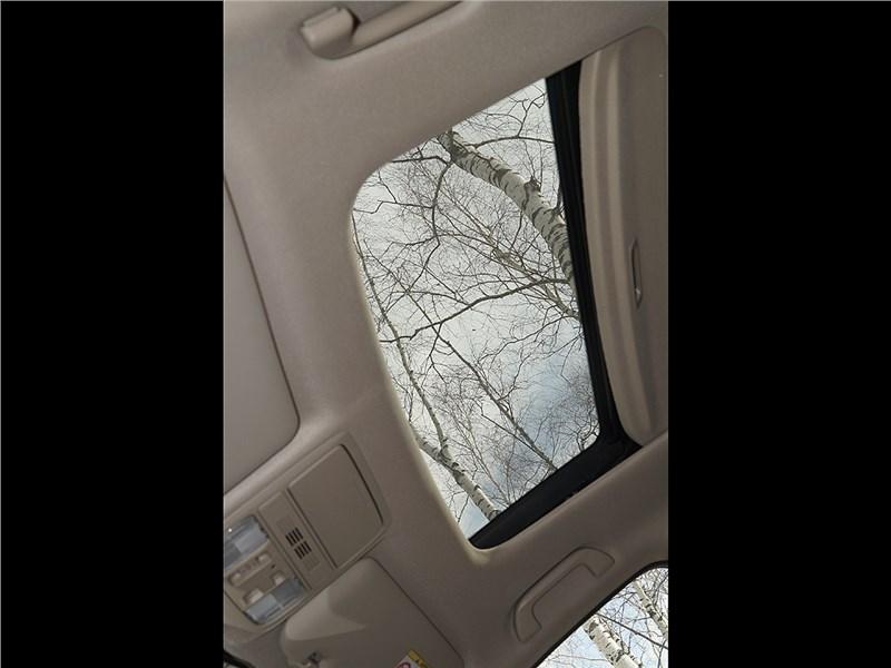 Honda CR-V 2015 люк в крыше