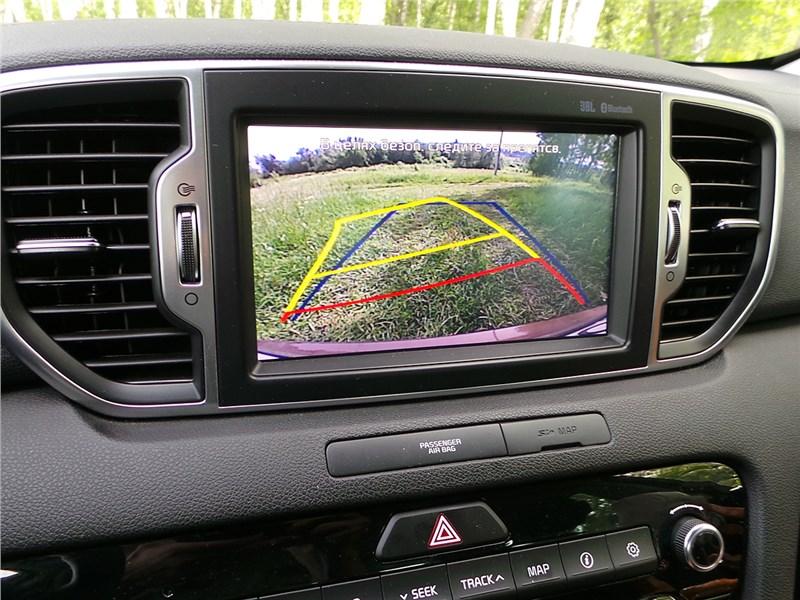 Kia Sportage 2016 монитор