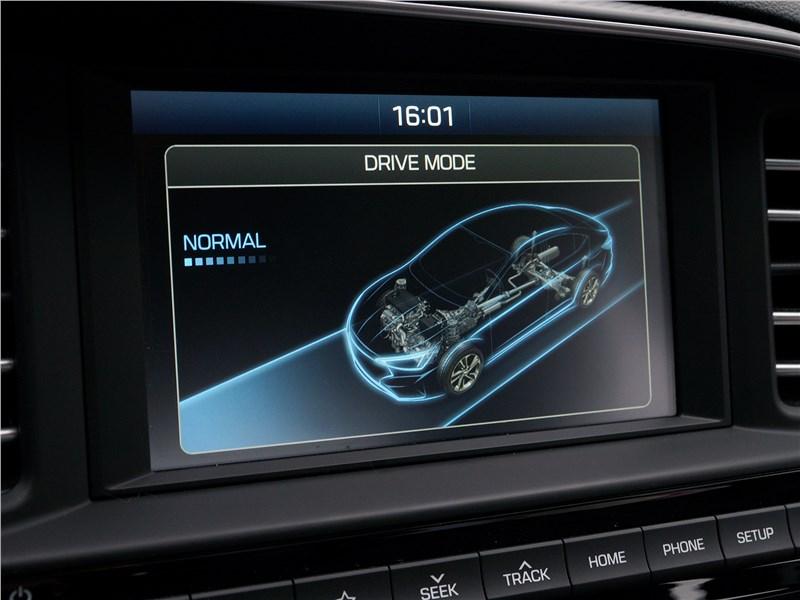 Hyundai Elantra 2019 центральная консоль
