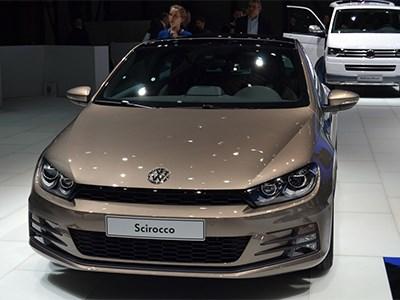 Volkswagen покажет в Женеве новое поколение Scirocco