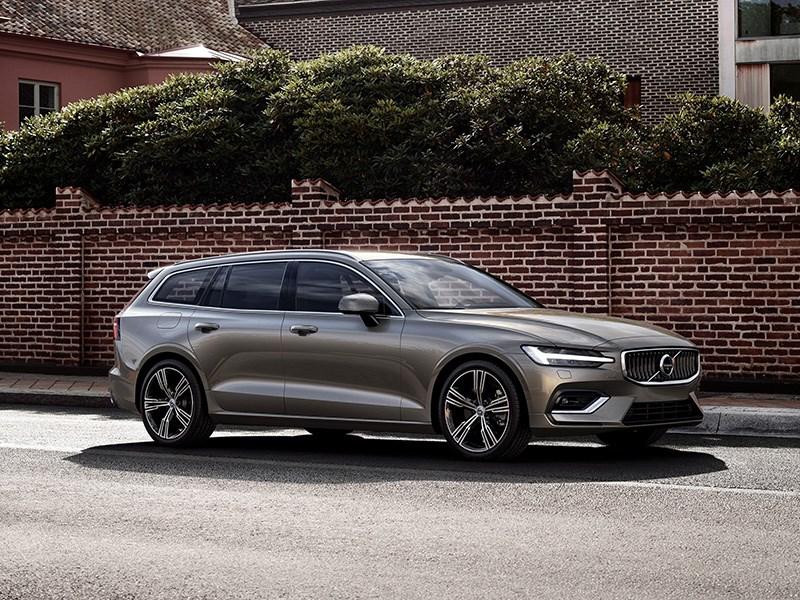 Новый Volvo V60: красивый, динамичный… и не для нас