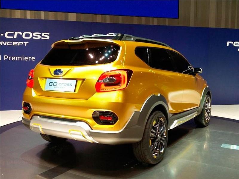 Datsun GO-cross concept 2015 вид сзади
